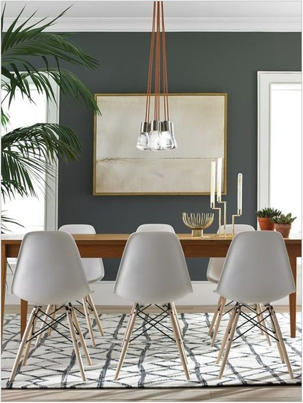 Mid Century Modern Lighting Dining Room