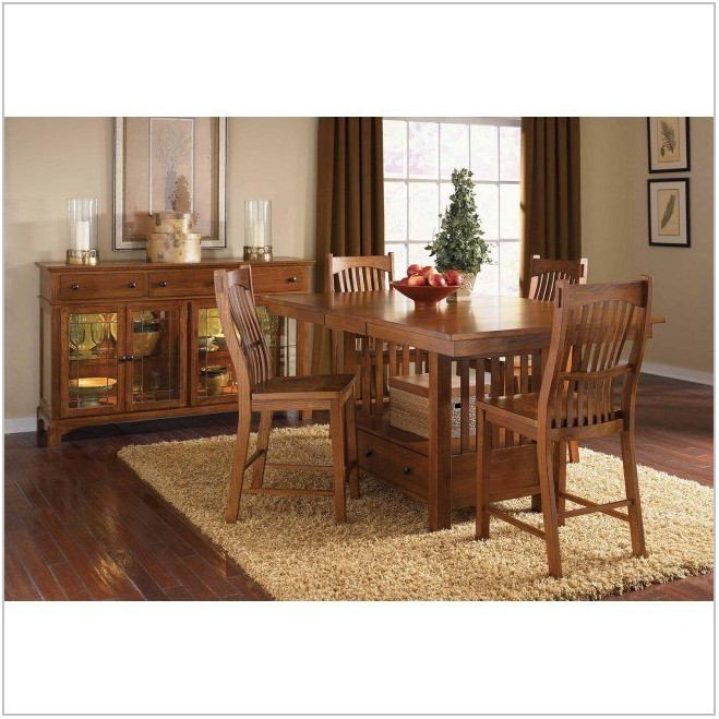 Mission Oak Dining Room Set