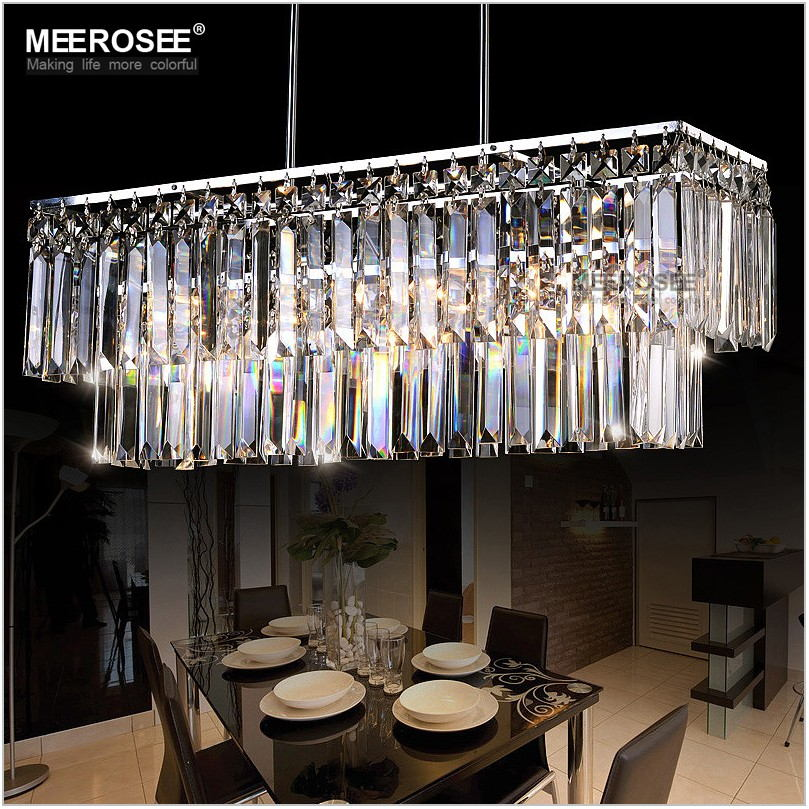 Modern Crystal Chandelier For Dining Room