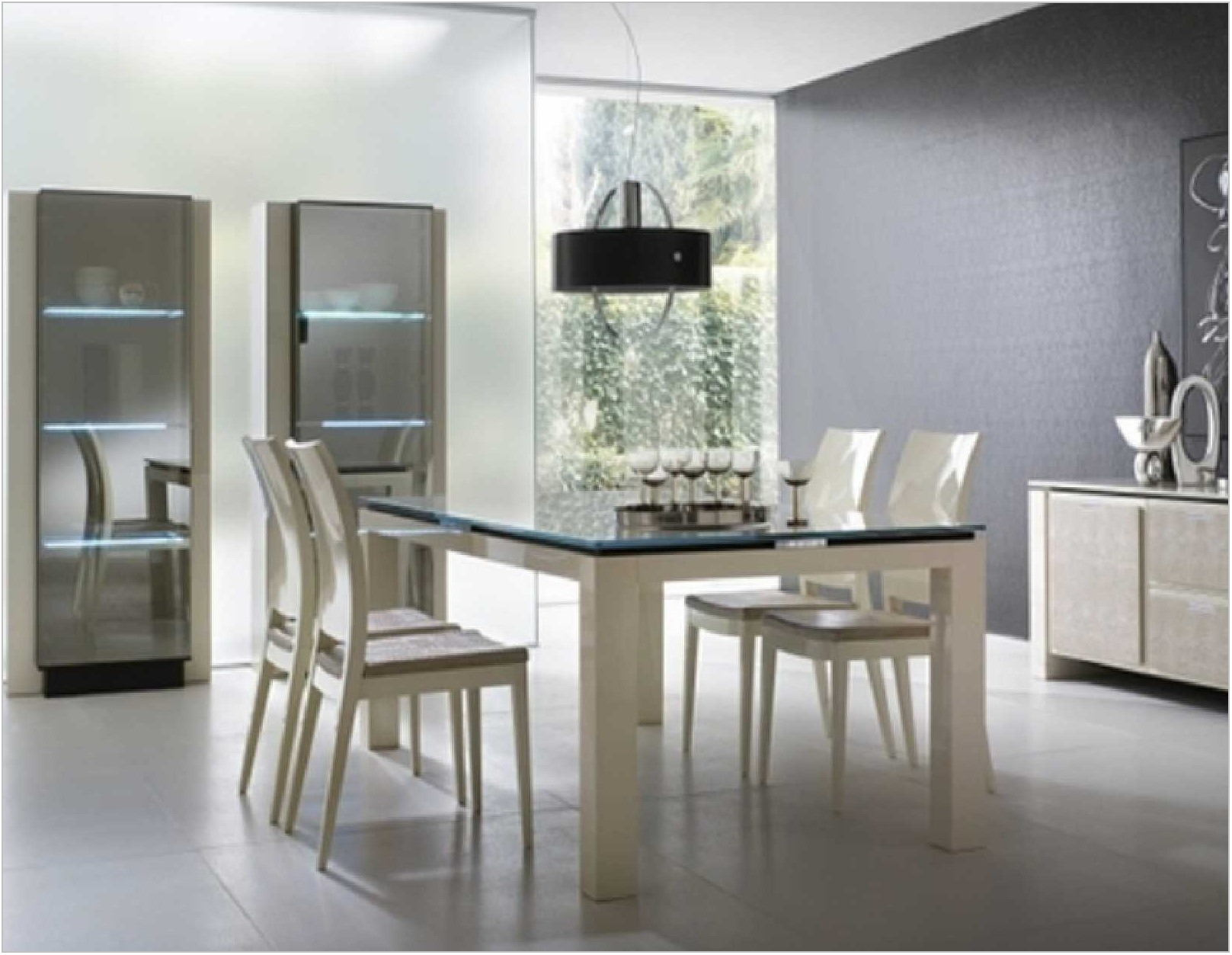 Modern Dining Room Sets White