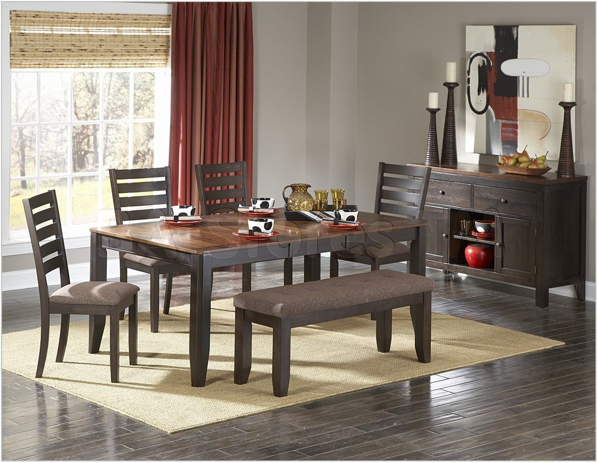 Modern Dining Room Sets With Bench