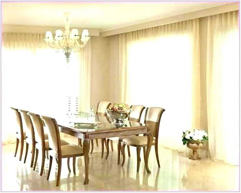Modern Farmhouse Dining Room Curtains