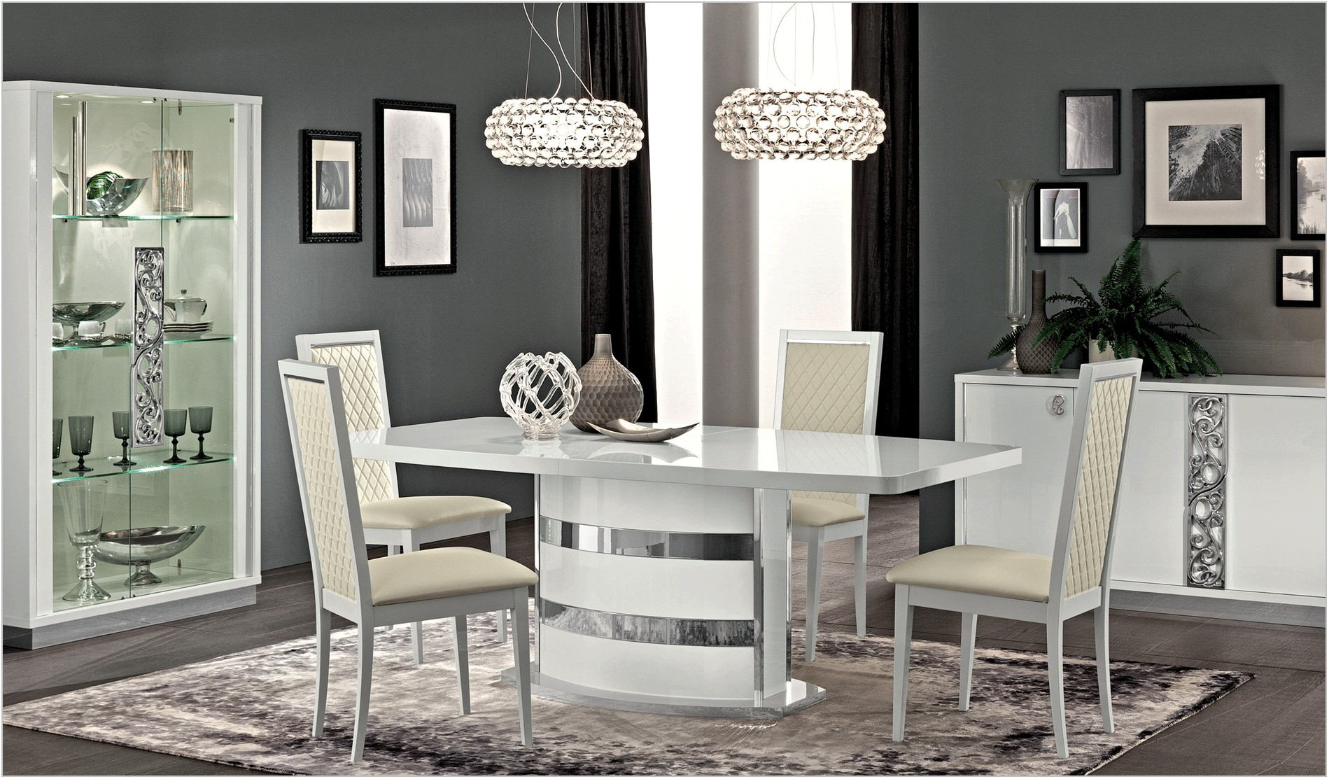 Modern White Dining Room Furniture