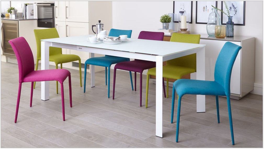 Multi Colored Dining Room Chairs