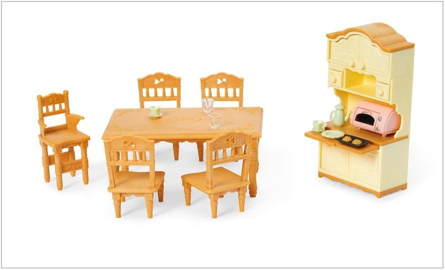 Multicolor Dining Room Set