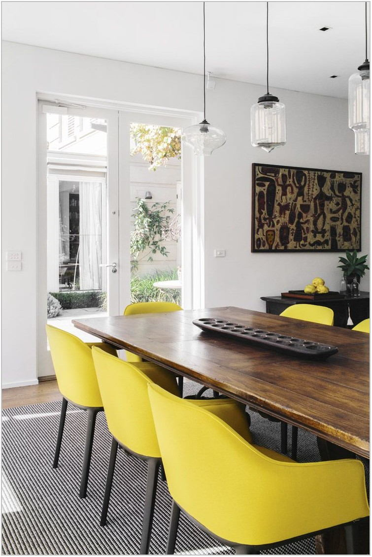 Mustard Dining Room Chairs