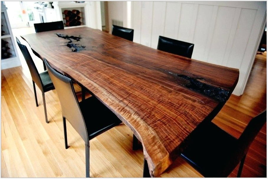 Natural Edge Dining Room Table