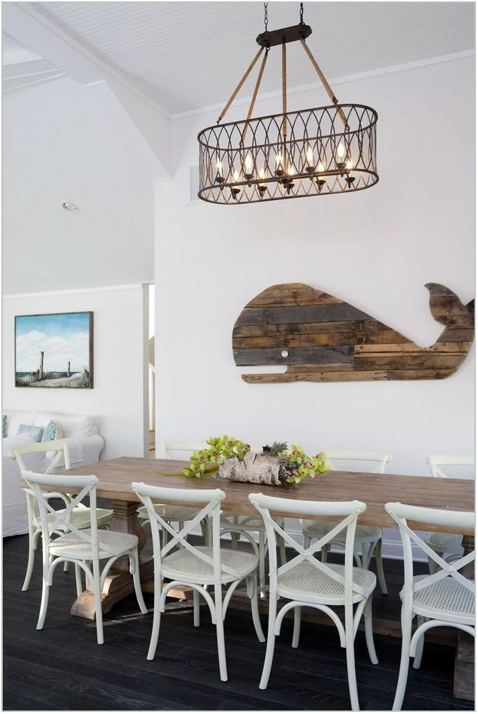 Nautical Dining Room Table
