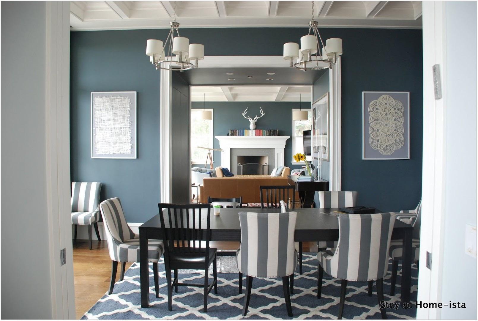 Navy Blue Dining Room Rug