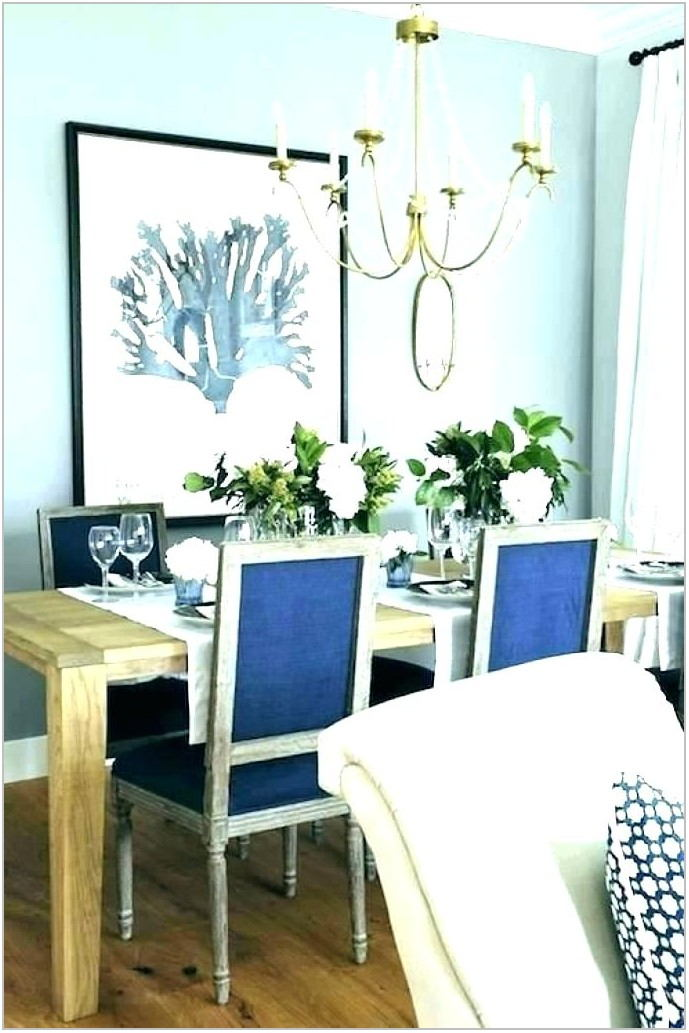 Navy Leather Dining Room Chairs