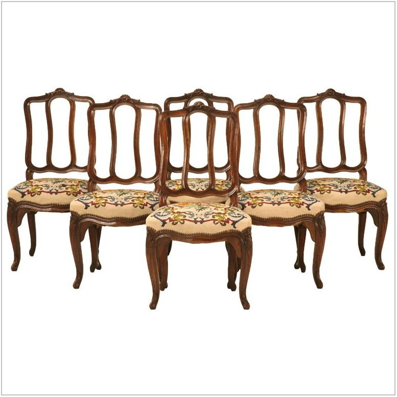 Needlepoint Dining Room Chairs