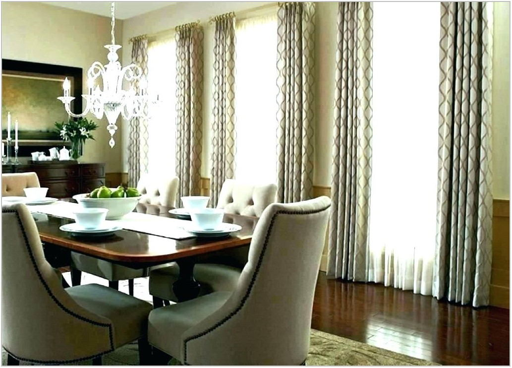 Nice Curtains For Dining Room