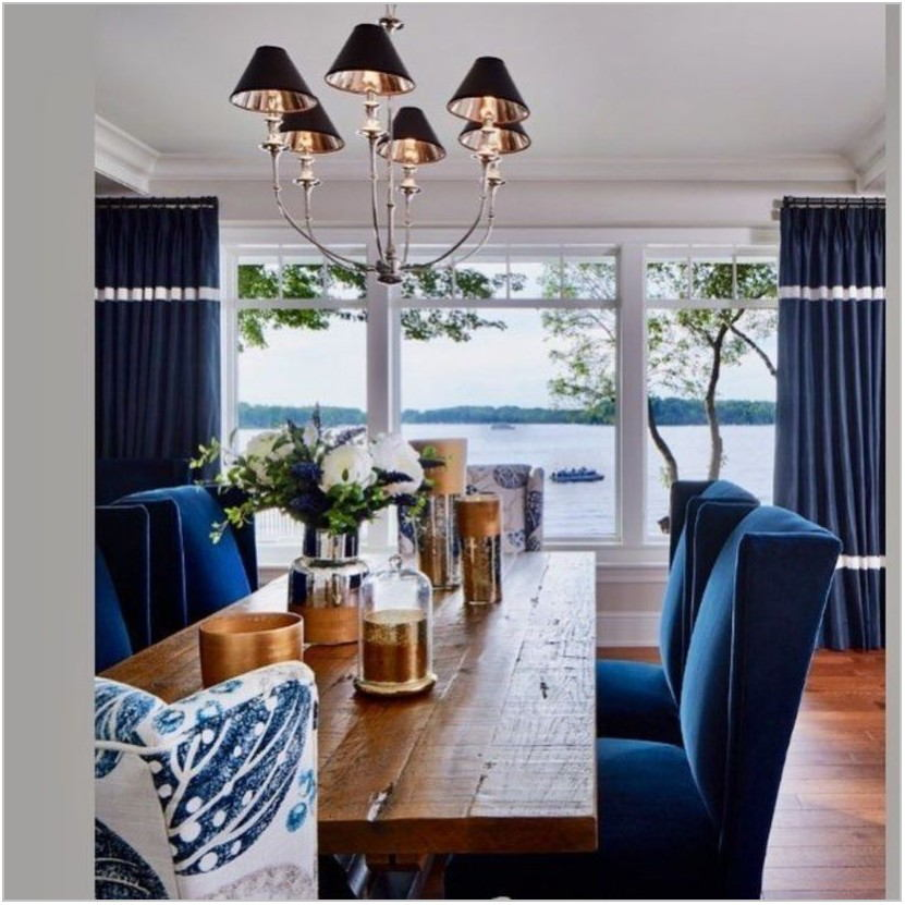 Offset Dining Room Light