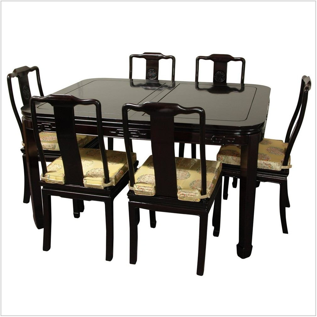 Oriental Dining Room Set