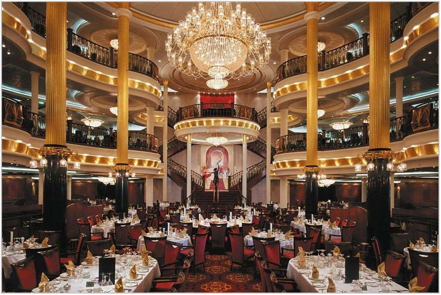 Ovation Of The Seas Main Dining Room