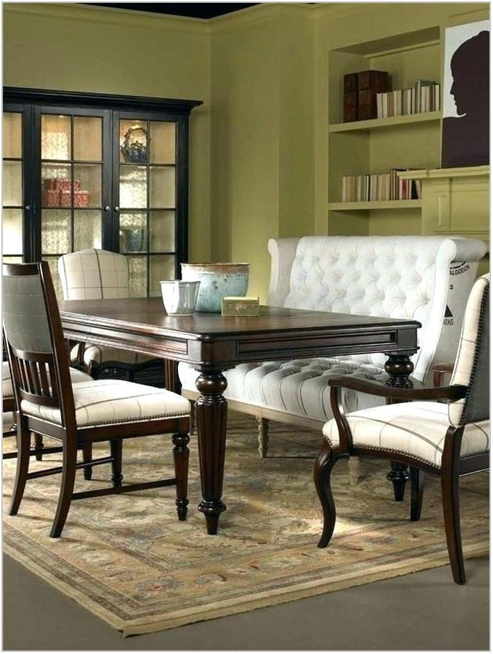 Padded Dining Room Bench
