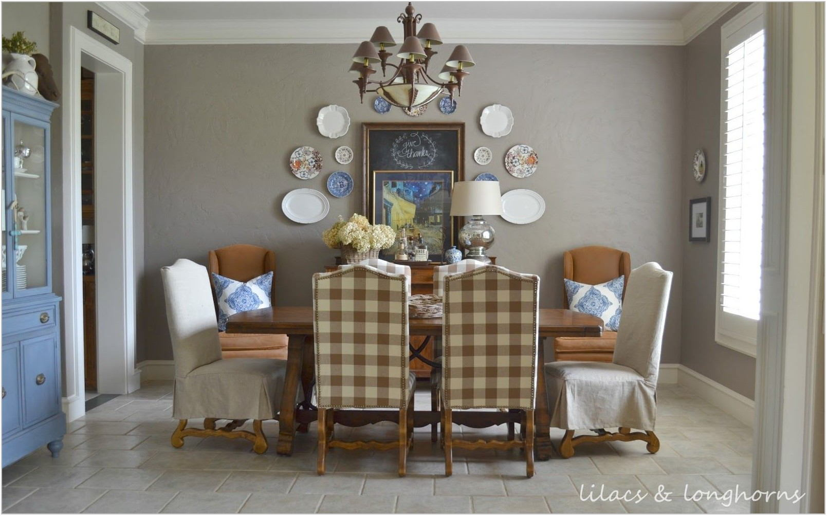 Paint Colors For Dining Room Table