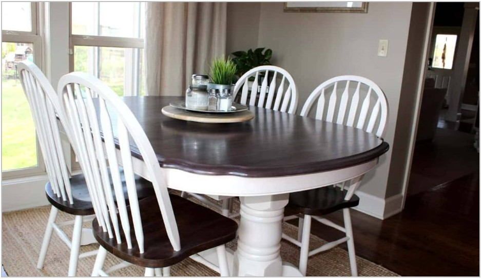 Painting Dining Room Table White