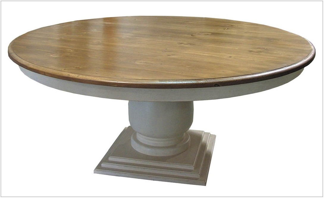 Pedestal Dining Room Table With Leaf