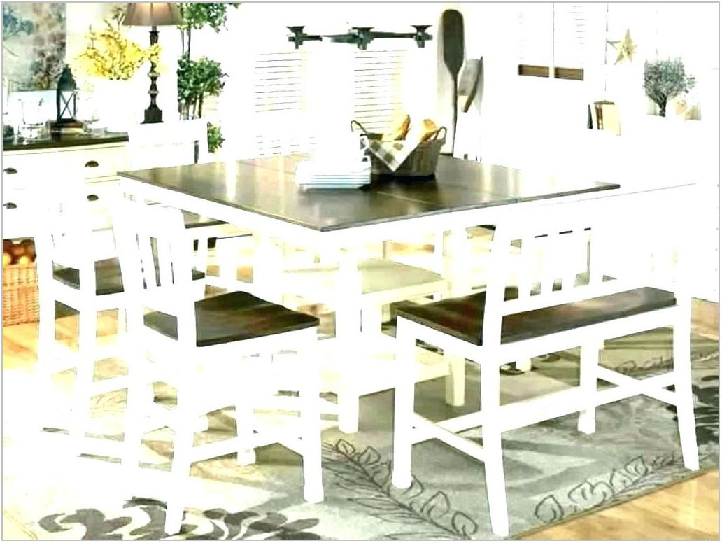 Picnic Bench Dining Room Table