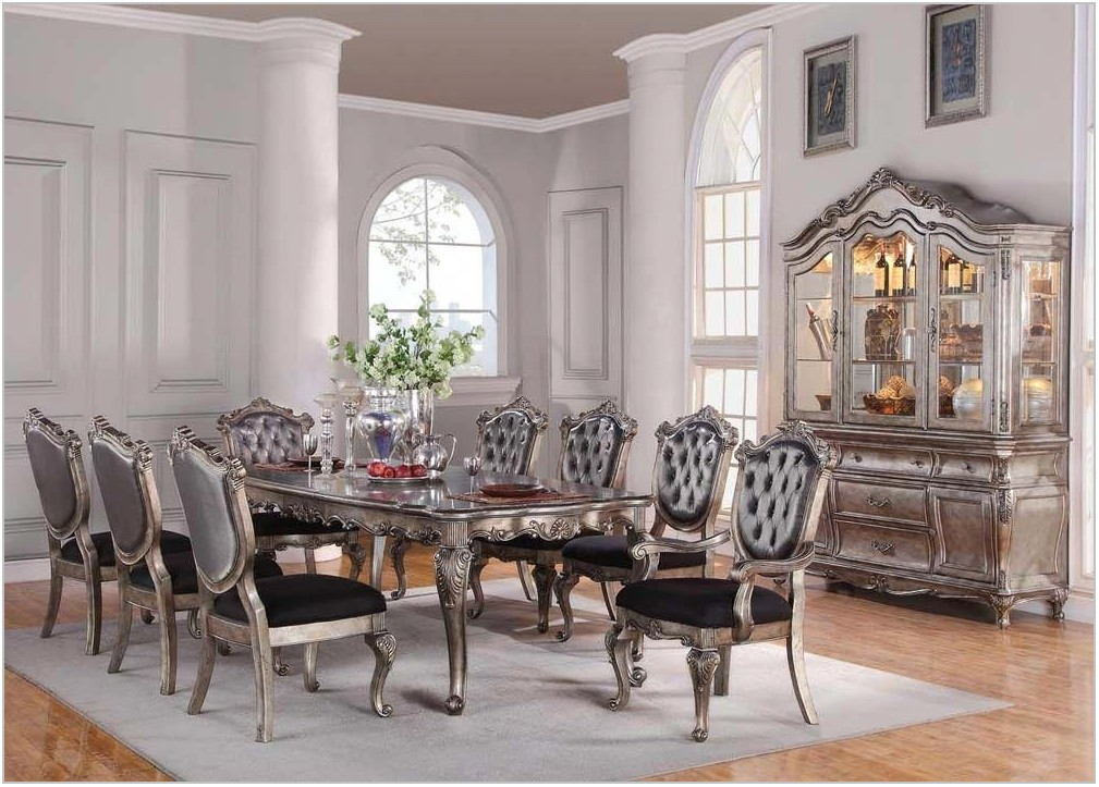 Platinum Dining Room Sets