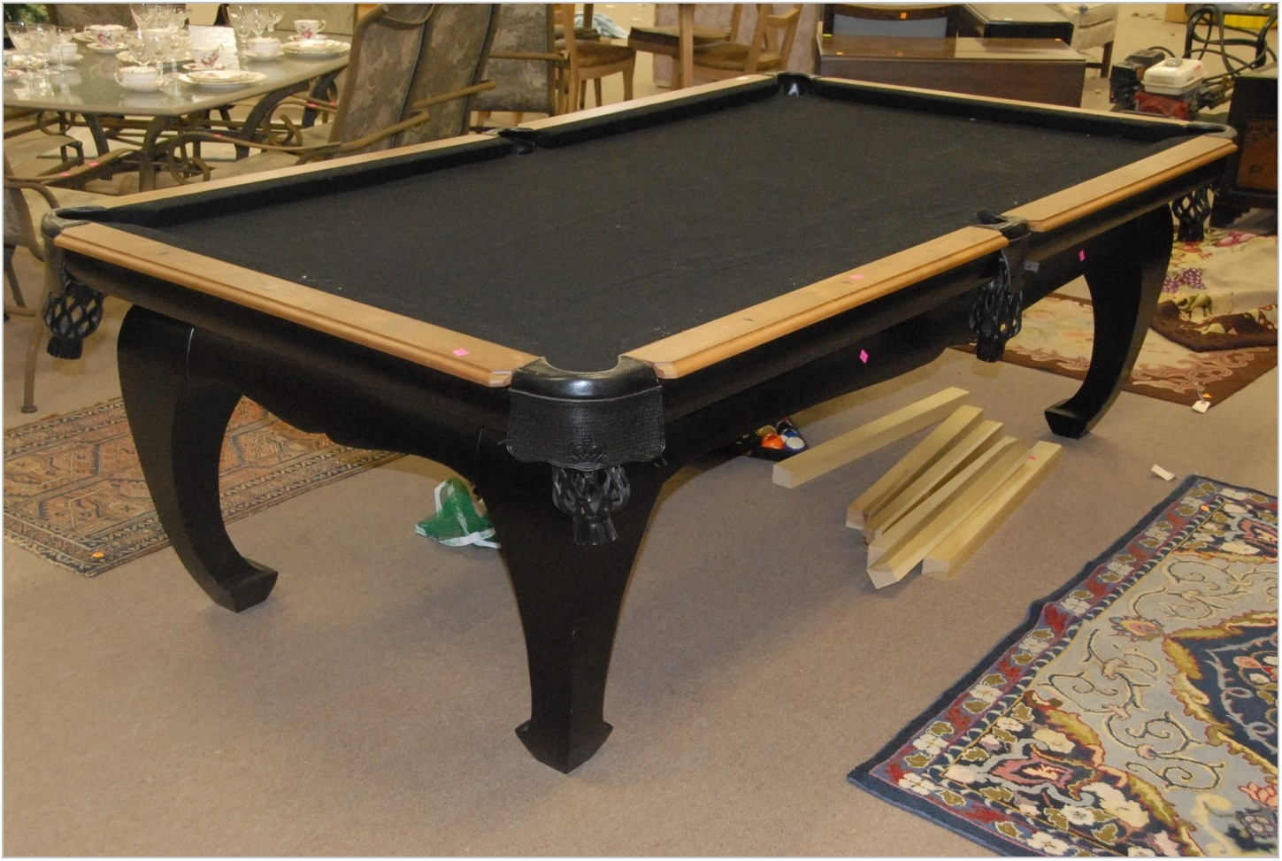 Pool Table Dining Room Set