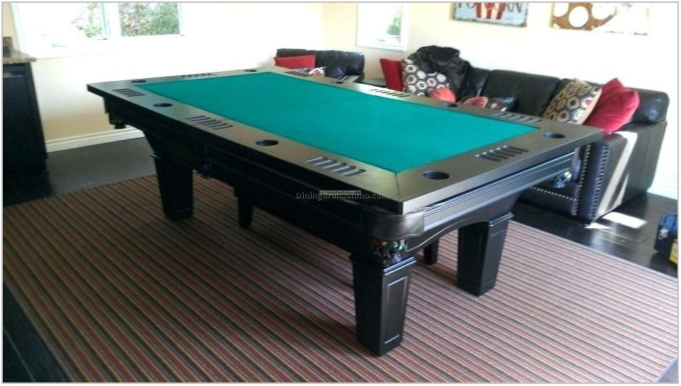 Pool Table Into Dining Room Table