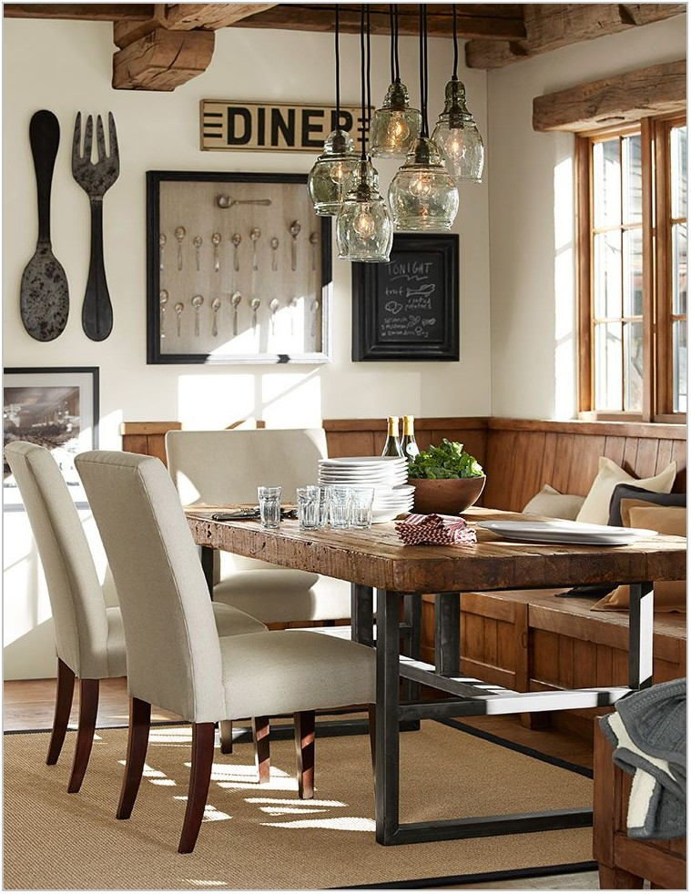Pottery Barn Lighting Dining Room
