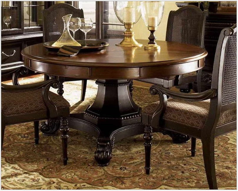 Pottery Barn Round Dining Room Table