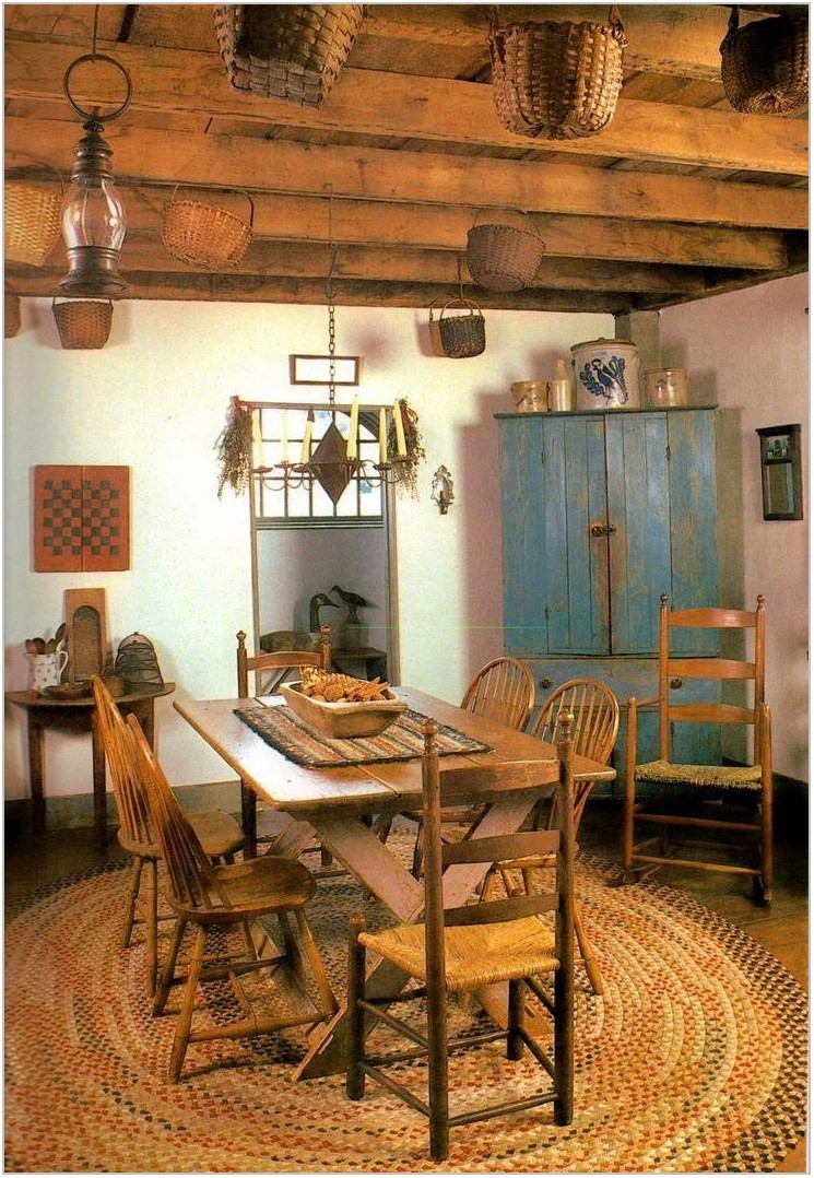 Primitive Dining Room Tables