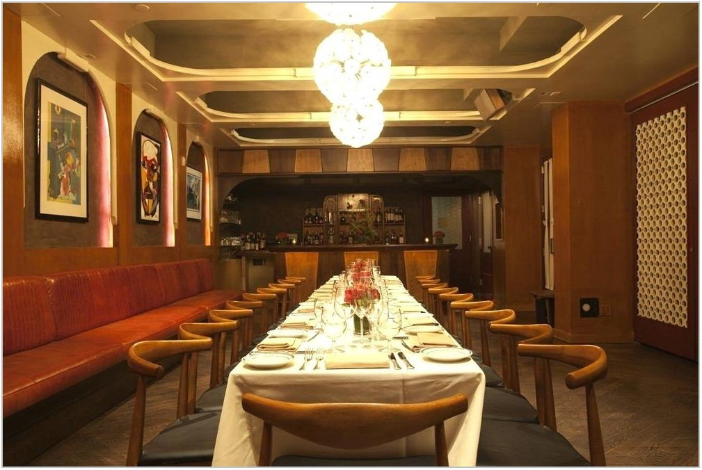 Private Dining Rooms Midtown Nyc