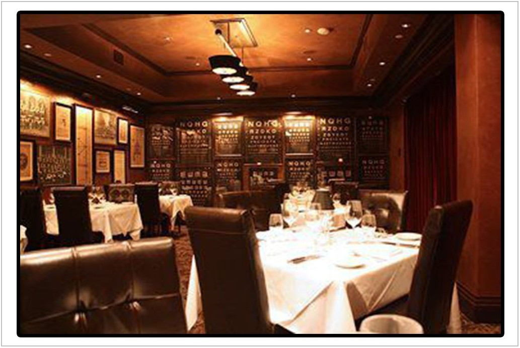 Private Dining Rooms Scottsdale