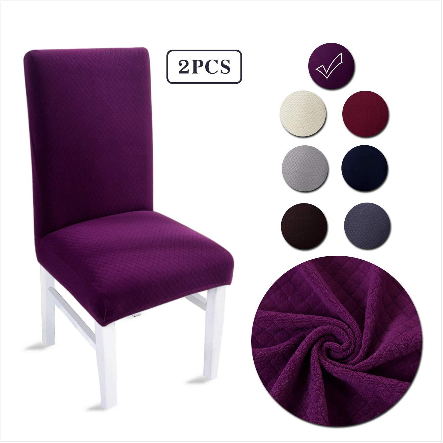 Purple Dining Room Chair Covers