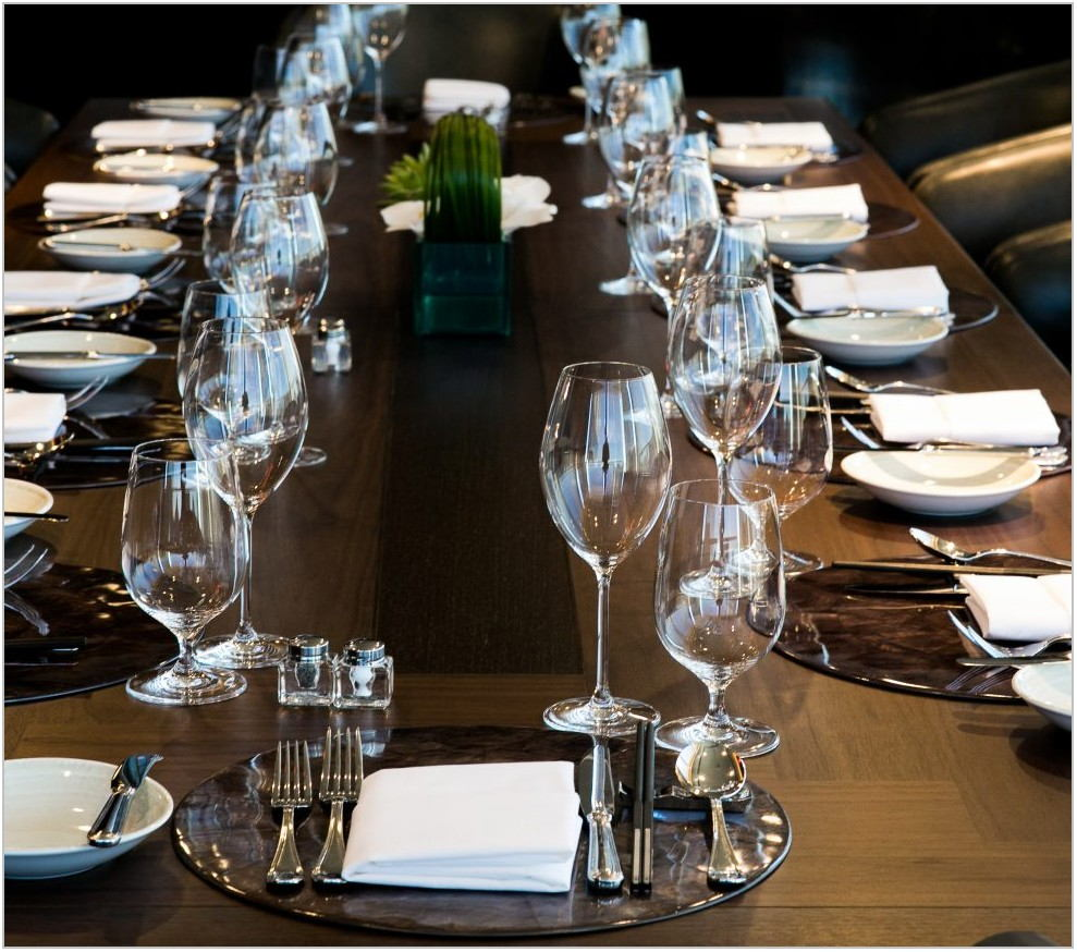 Rainbow Room Private Dining
