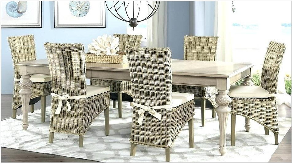 Rattan Chairs Dining Room