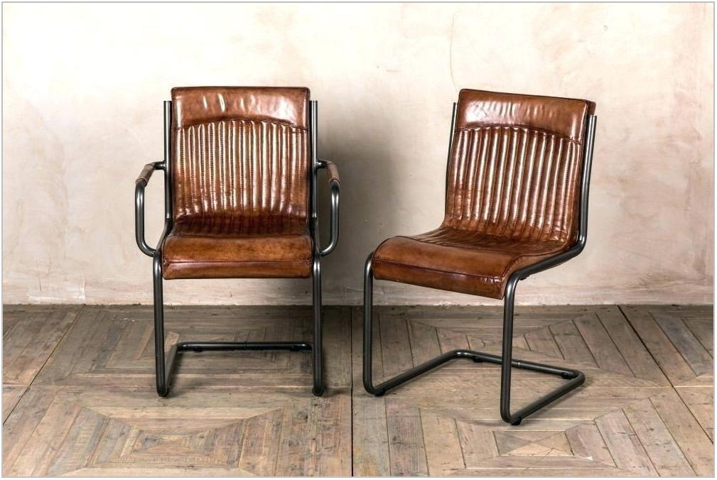 Real Leather Dining Room Chairs