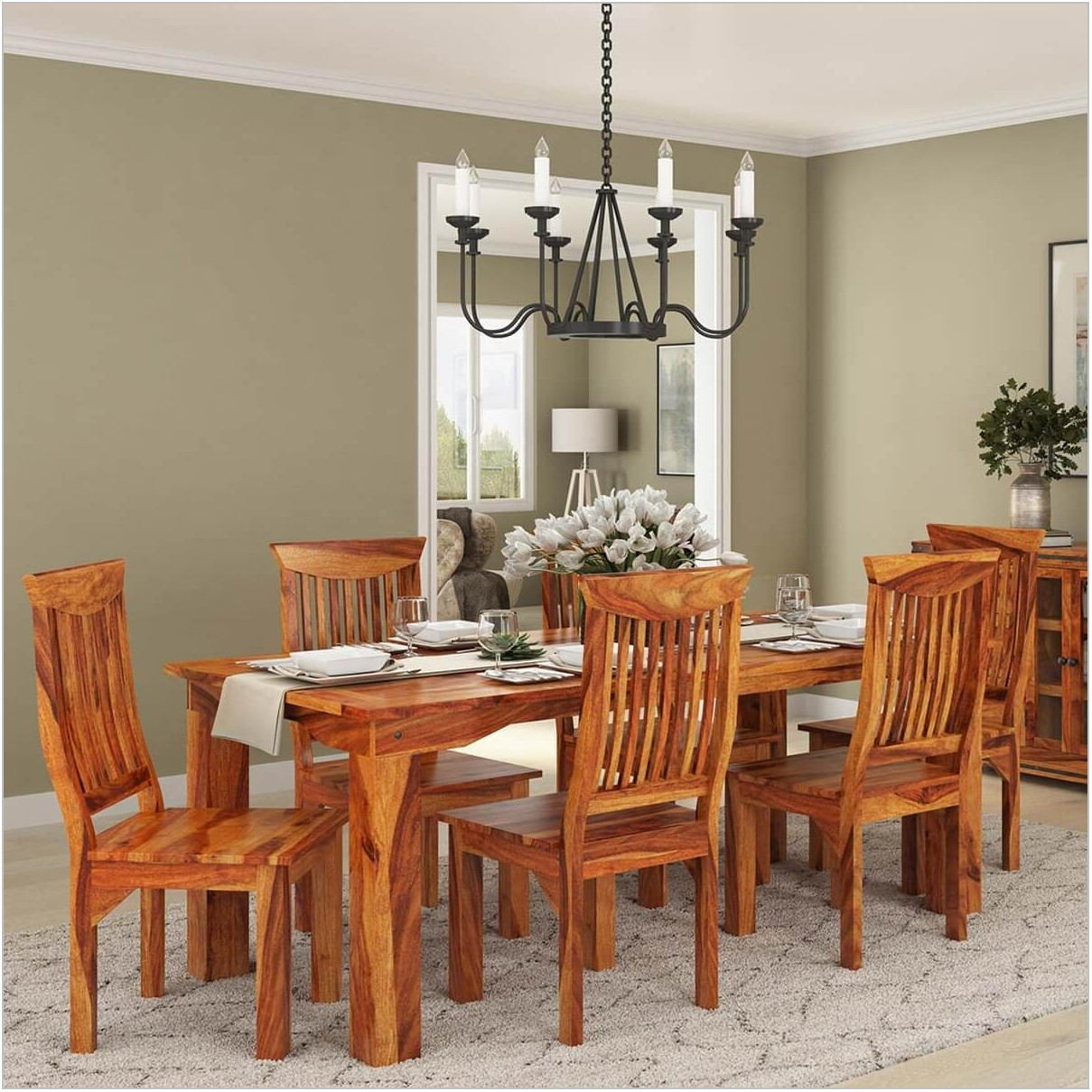 Real Wood Dining Room Furniture