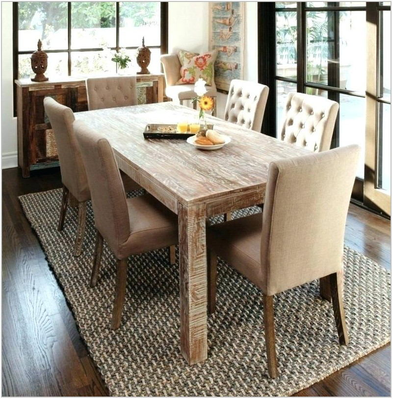 Reclaimed Wood Dining Room Table And Chairs