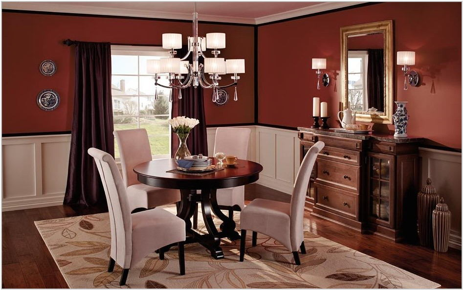 Red Dining Room Paint Colors