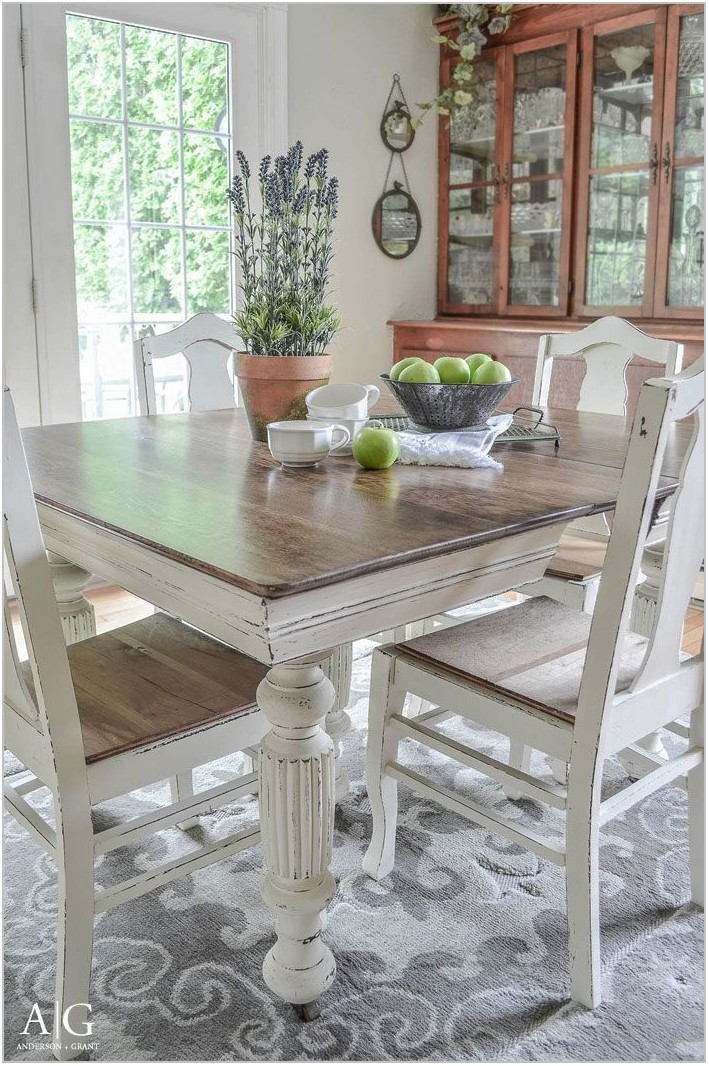 Refinished Dining Room Furniture