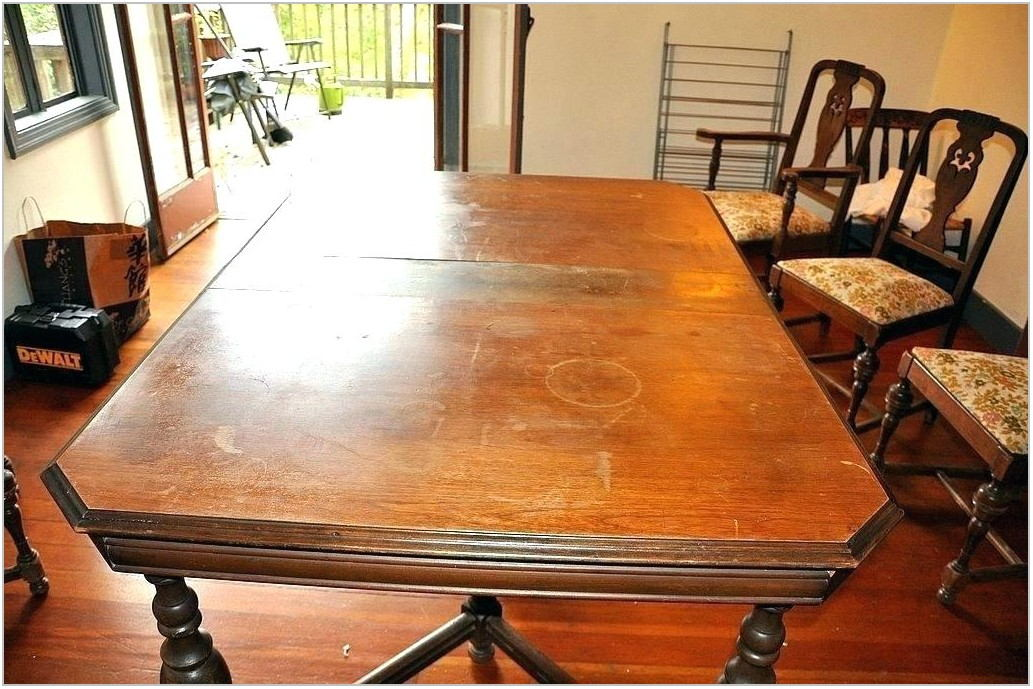 Refinishing Dining Room Chairs With Paint