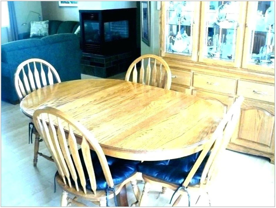 Refinishing Dining Room Set