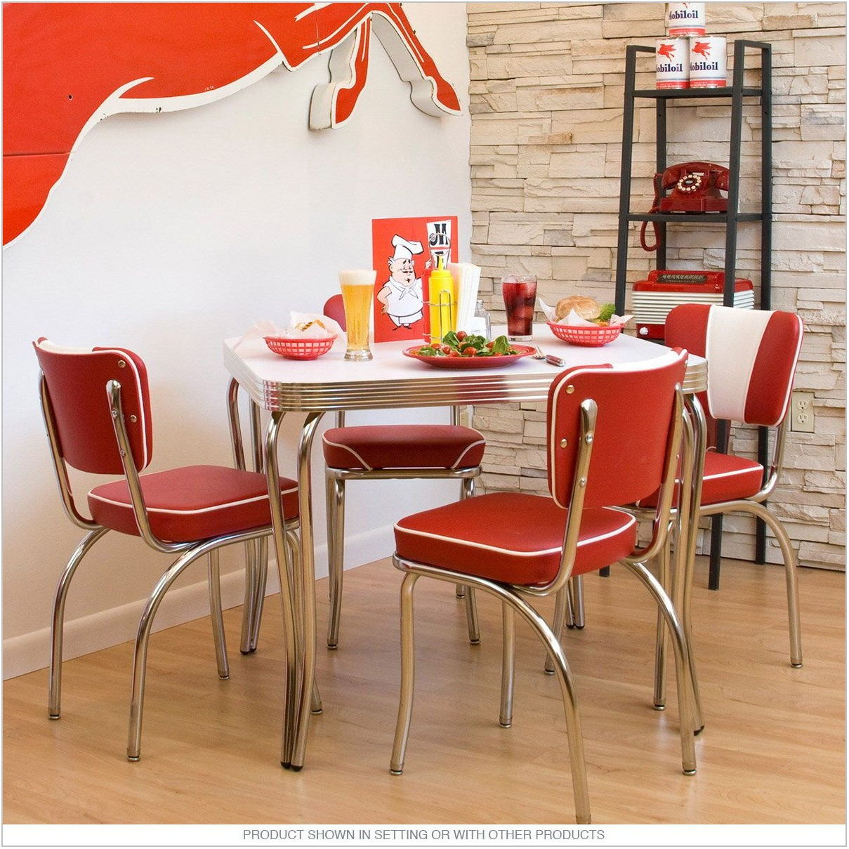 Retro Dining Room Table Sets
