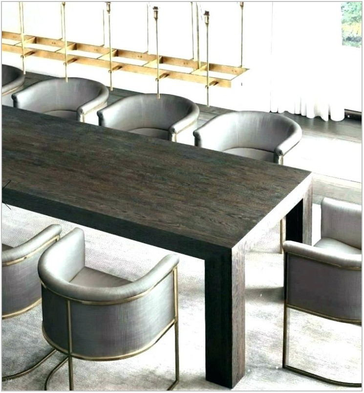 Rh Modern Dining Room Tables