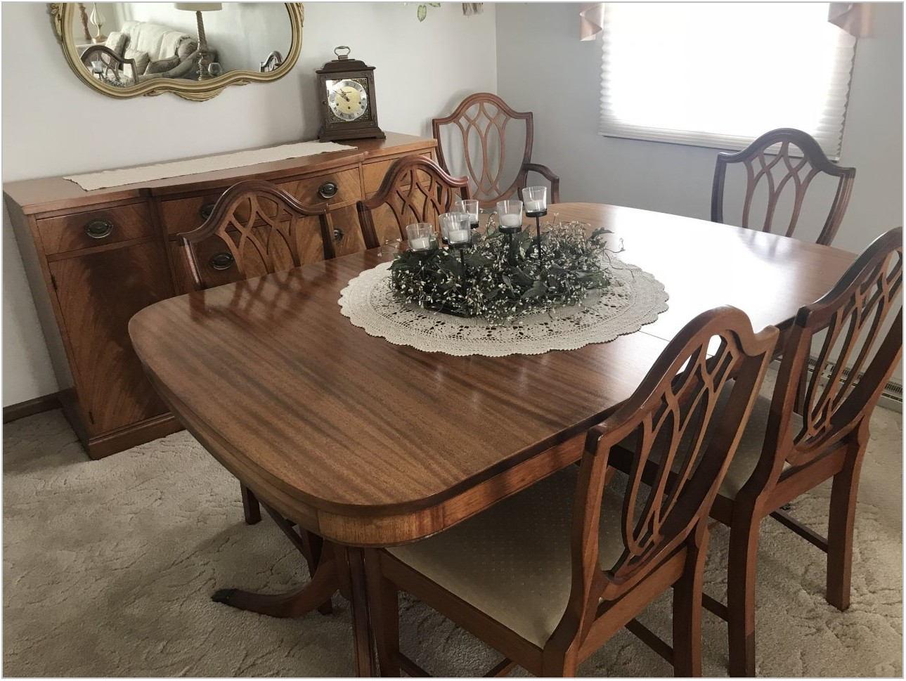 Rockford Furniture Company Dining Room Set Value