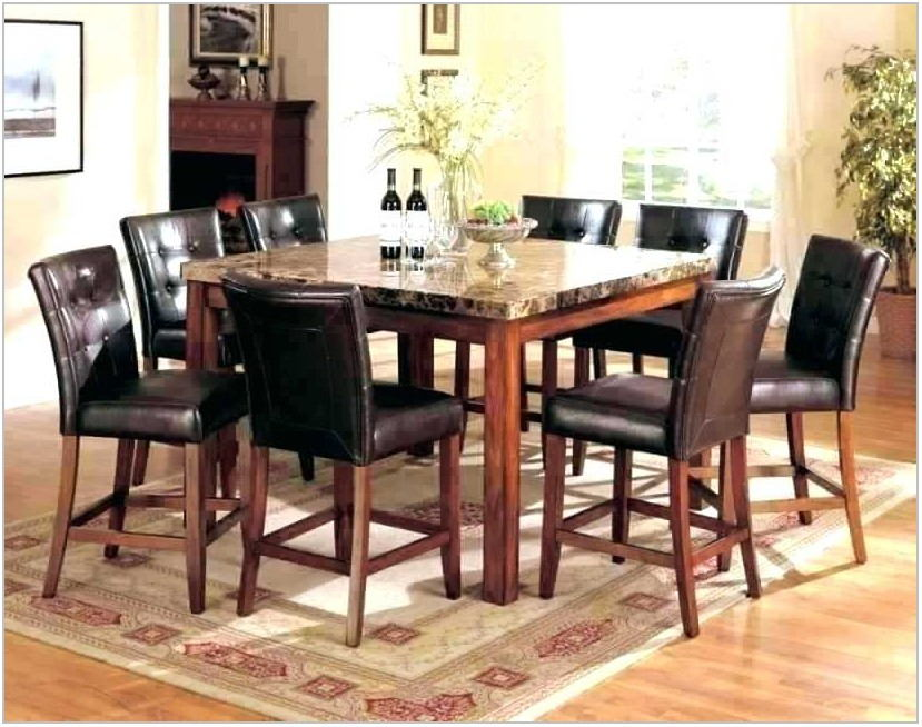 Rooms To Go Glass Dining Table Set
