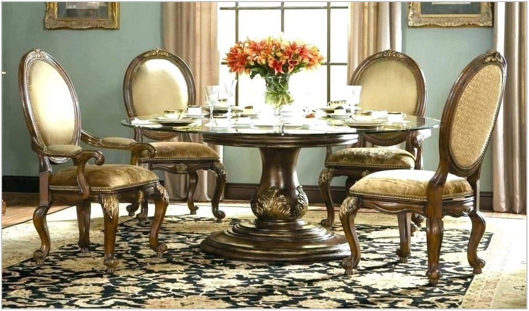 Rooms To Go Glass Top Dining Table