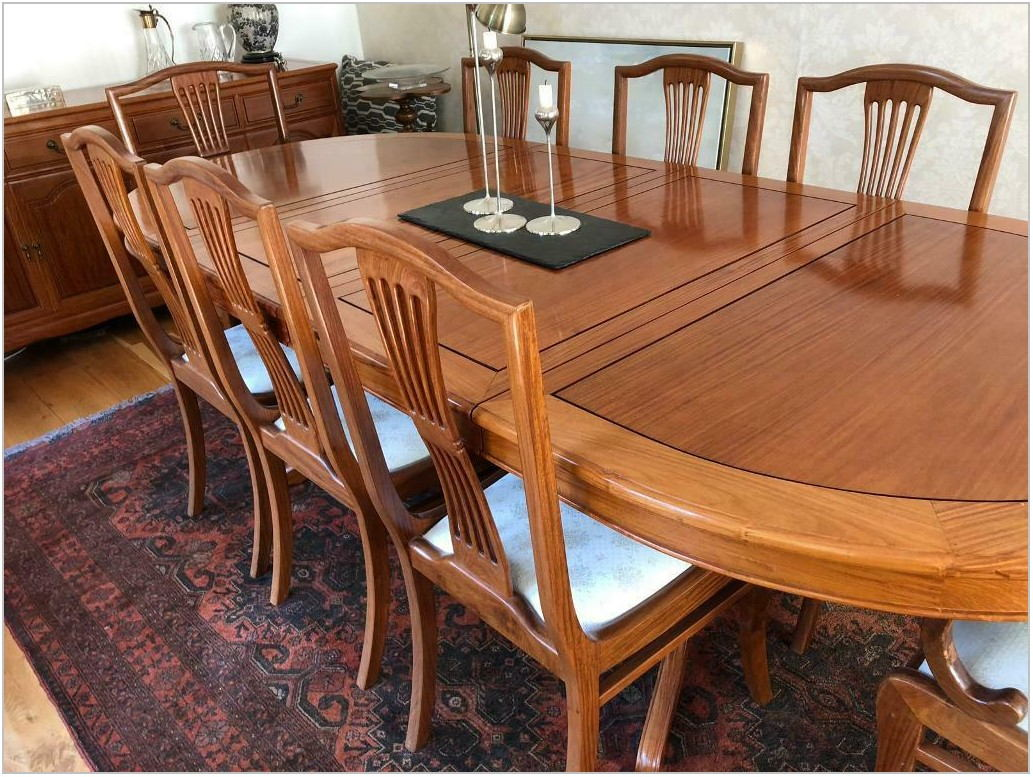 Rosewood Dining Room Chairs