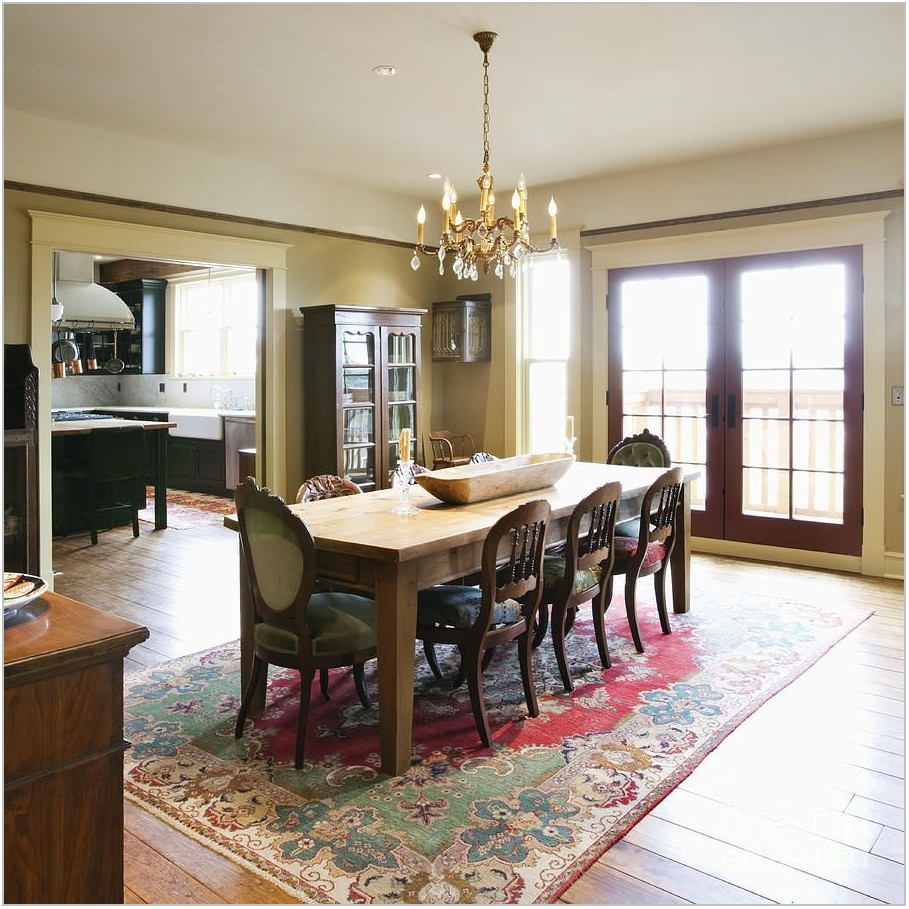 Round Dining Room Table Rugs