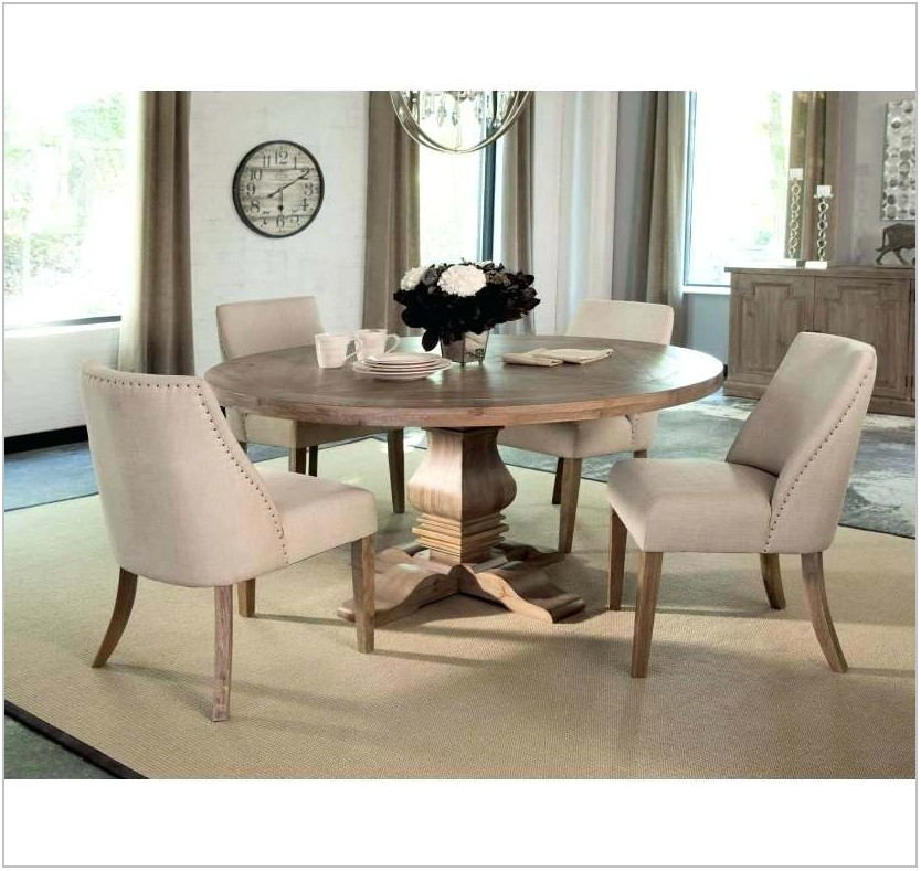 Round Formal Dining Room Sets For 6